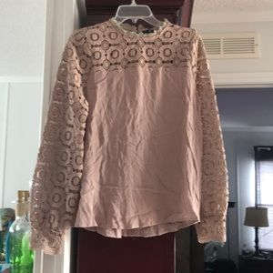 Tops - Long sleeve lace blouse